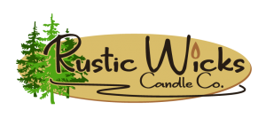 Rustic Wicks Candle Co. Logo