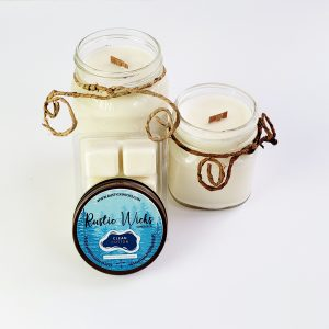 Clean Cotton Candle | Rustic Wick Candle Co.