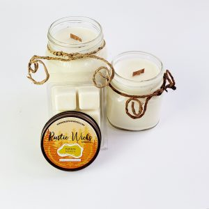 Mango Candle by Rustic Wicks Candle Company
