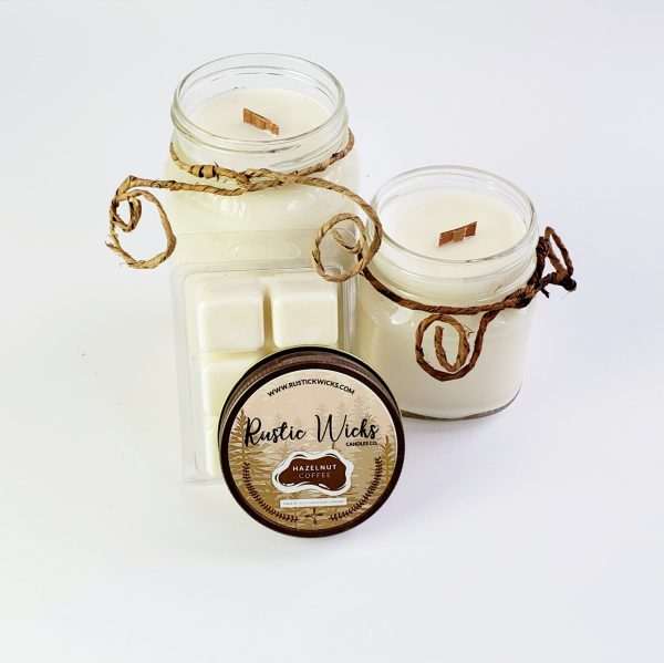 Coffee Candle by Rustick Wicks Candle Co.