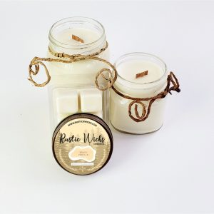 Warm Vanilla Soy Candles